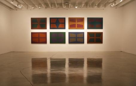 Karl Benjamin Installation