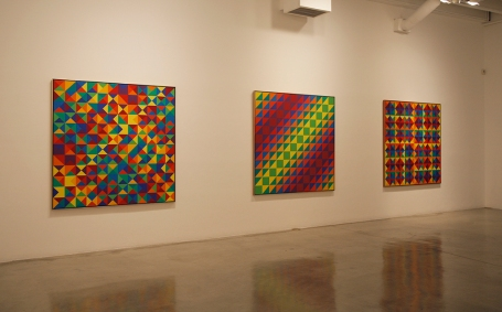 Karl Benjamin Paintings